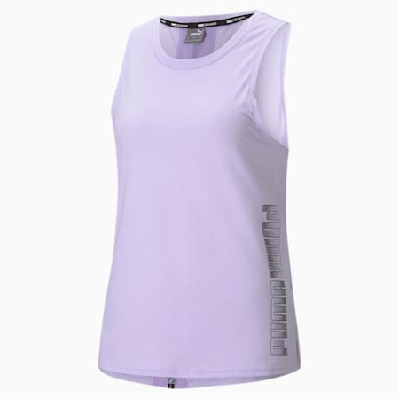 Muscle Women's Training Tank Top, Light Lavender, small-SEA