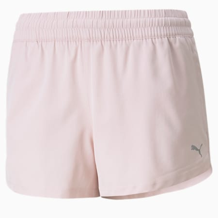 """Performance Woven 3"""" Women's Traning Shorts, Lotus, small-IND"""