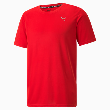 Performance Men's Training Tee, High Risk Red, small-SEA