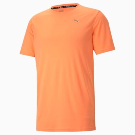 퍼포먼스 반팔 티, Soft Fluo Orange, small-KOR