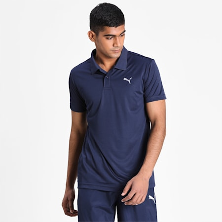 Active Cat Men's Polo, Peacoat, small-IND