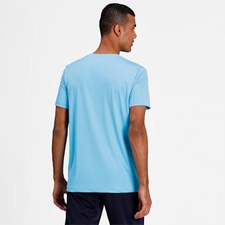 PUPMA Sports 1948 Active Men's T-Shirt, Luminous Blue, small-IND