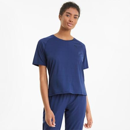 スタジオ グラフィン リラックス Tシャツ ウィメンズ, Elektro Blue, small-JPN
