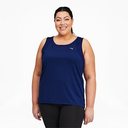 Camiseta de entrenamiento sin mangas Favoritepara mujer, Elektro Blue, pequeño