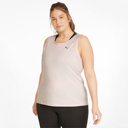 Damska treningowa koszulka bez rękawów Favourite, Lotus, small