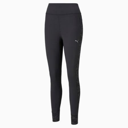 Pantalones de punto para correr para mujer, Puma Black, pequeño