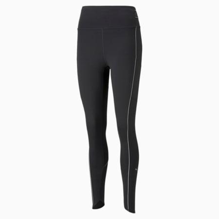 COOLADAPT High Waist Full-Length Women's Running Leggings, Puma Black, small