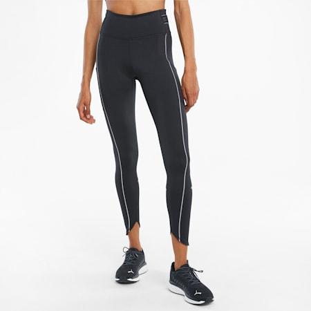 Długie damskie legginsy do biegania COOLADAPT z wysokim stanem, Puma Black, small
