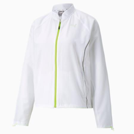 RUN Woven Women's Ultra Jacket, Puma White, small-IND