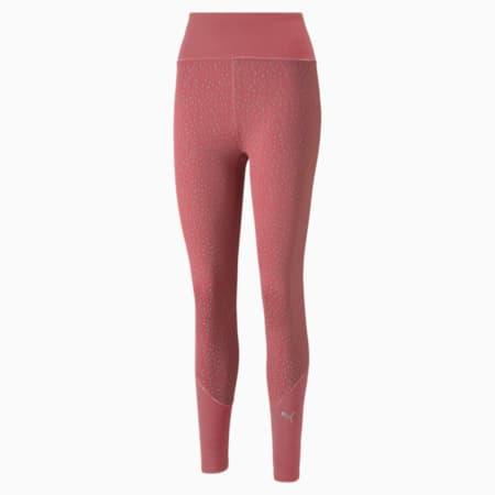 Leggings para correr de cintura alta de largo completo para mujer, Mauvewood, pequeño