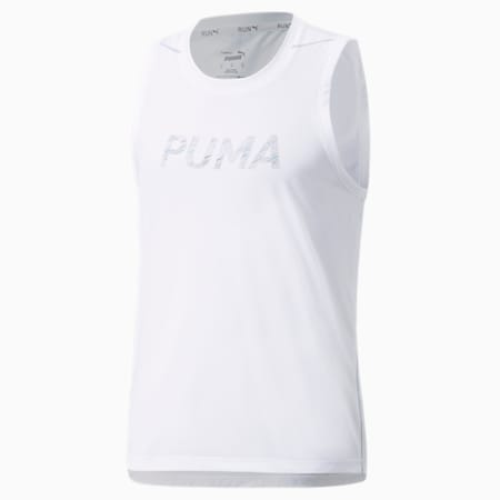 Maillot de corps de course COOLADAPT homme, Puma White, small