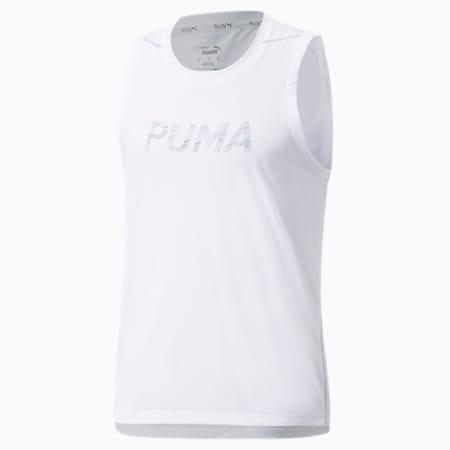 COOLADAPT Men's Running Singlet, Puma White, small-GBR