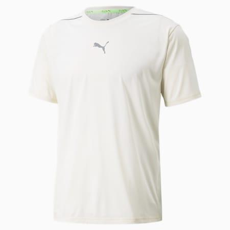 T-shirt de course à manches courtes COOLADAPT homme, Ivory Glow, small