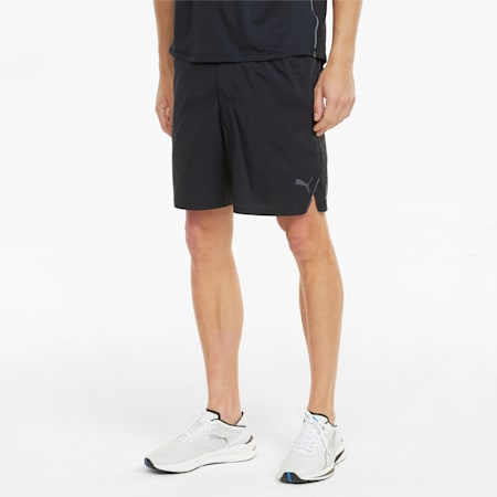 "Woven 7"" Men's Running Shorts, Puma Black, small-SEA"
