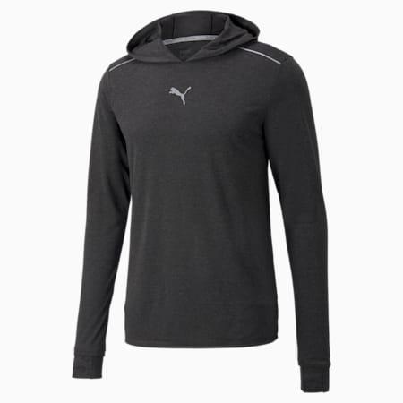 Abrigo de lana para correr para hombre, Puma Black, pequeño