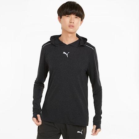 Wool 러닝 미드레이어/RUN WOOL MIDLAYER, Puma Black, small-KOR