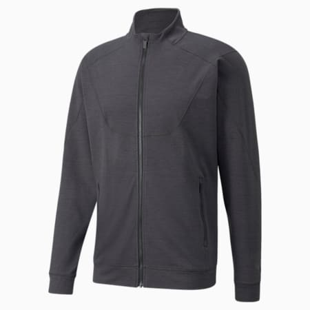 CLOUDSPUN Full-Zip Training Men's Jacket, Puma Black Heather, small