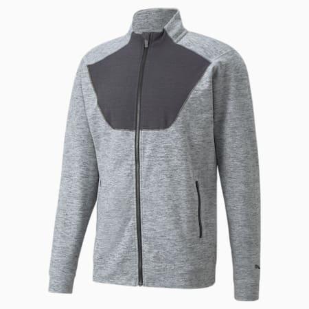 CLOUDSPUN Full-Zip Training Men's Jacket, Medium Gray Heather, small
