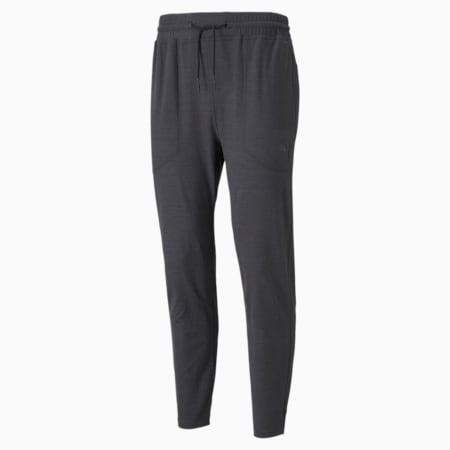 Cloudspun Knitted Men's Training Joggers, Puma Black Heather, small-IND