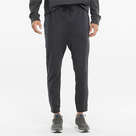 Męskie spodnie treningowe CLOUDSPUN, Puma Black Heather, small