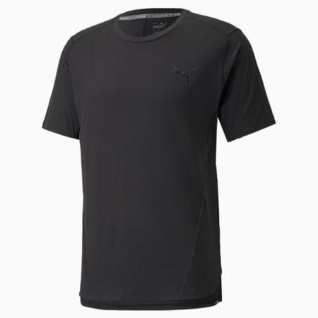 CLOUDSPUN BND Short Sleeve Men's Training Tee, Puma Black, small