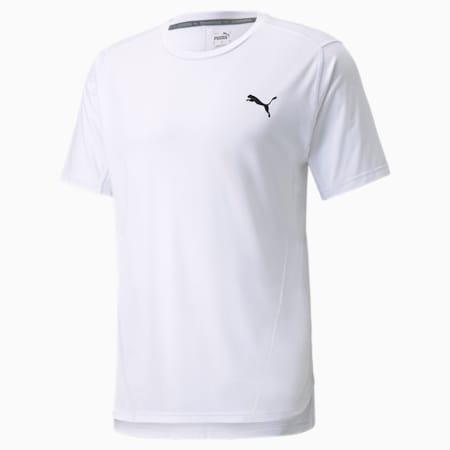 CLOUDSPUN BND Short Sleeve Men's Training Tee, Puma White, small
