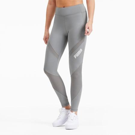 Damskie legginsy treningowe ze średnią talią, Quarry, small