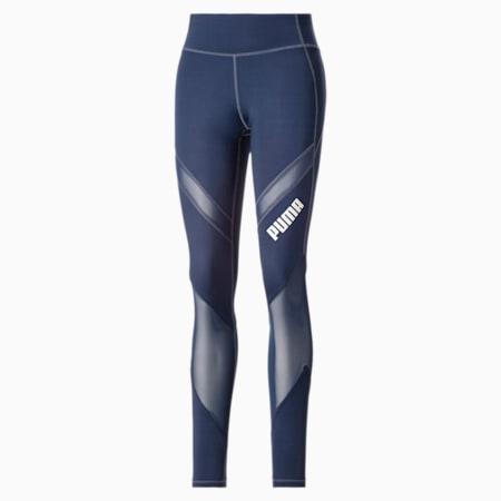 Damskie legginsy treningowe ze średnią talią, Sargasso Sea, small