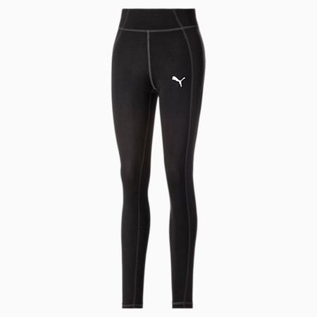 High Waist Fabric Block Women's Training Leggings, Puma Black, small