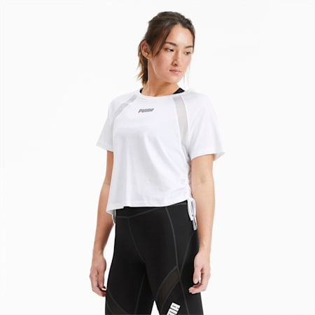 Boxy Damen Training T-Shirt, Star White, small
