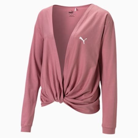 Damen Training Sweatshirt, Mesa Rose, small