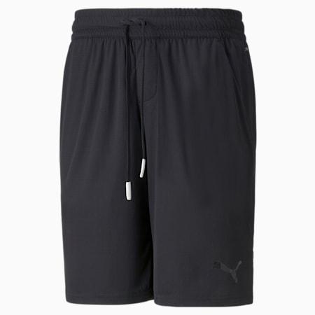 """Shorts deportivos tejidos de 10"""" para hombre, Puma Black, pequeño"""
