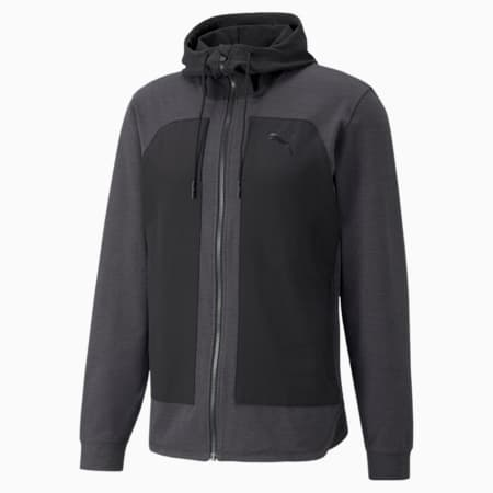 CLOUDSPUN Protection trainingsjack voor heren, Puma Black Heather, small