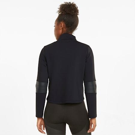 Moto Women's Training Jacket, Puma Black, small-SEA
