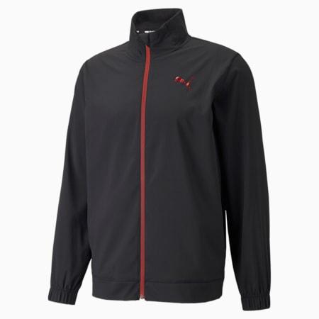 Fade Men's Training Jacket, Puma Black, small-GBR