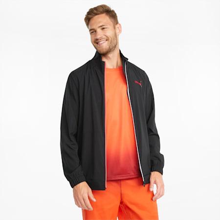 Fade 트레이닝 재킷/Fade Jacket, Puma Black, small-KOR