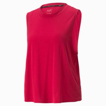 Débardeur d'entraînement Forever Luxe Muscle, femme, Rouge persan, petit