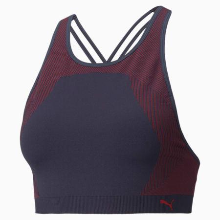 Long Line Seamless Women's Training Bra, Spellbound-Sunblaze, small-GBR