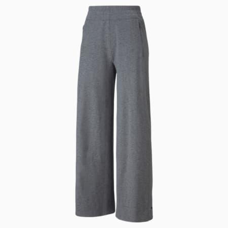 Pantalones deportivos CLOUDSPUN para mujer, Puma Black Heather, pequeño