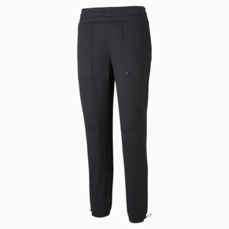 Pantalones de entrenamiento de polar PWR para mujer, Puma Black, pequeño