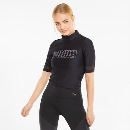 EVERSCULPT Damen Trainingsshirt, Puma Black, small
