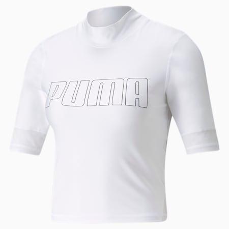 Top de entrenamiento para mujer EVERSCULPT, Puma White, small