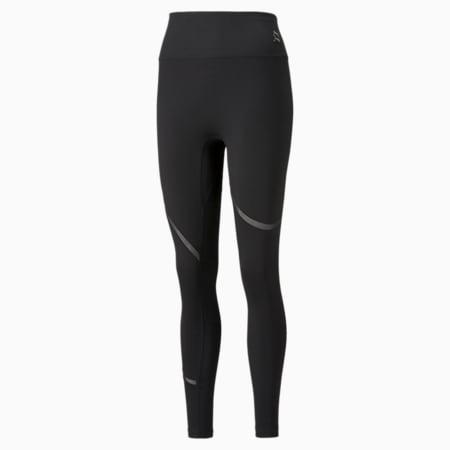 EXHALE Mesh Curve Women's Training Leggings, Puma Black, small-GBR