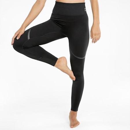 EXHALE Mesh Curve Damen Trainingsleggings, Puma Black, small