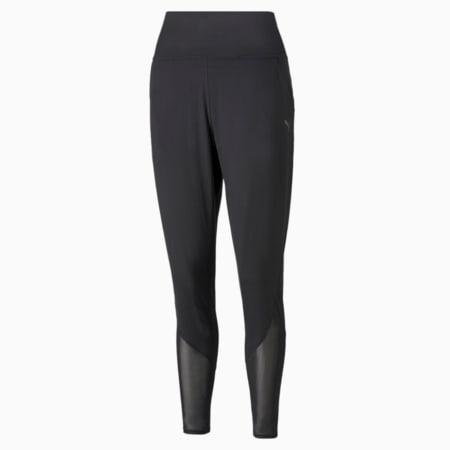 Pantalones deportivos entallados STUDIO Yogini para mujer, Puma Black, pequeño