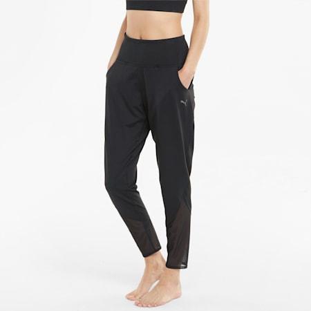 STUDIO Yogini Slim Women's Training Jogger, Puma Black, small-GBR
