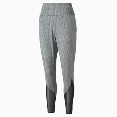 STUDIO Yogini slim fit trainingsbroek dames, Medium Gray Heather, small