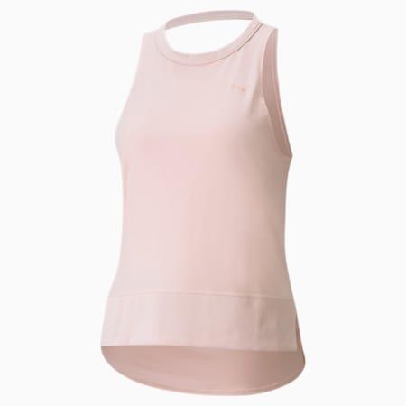 Studio Sleeveless Open Back Women's Training Tank Top, Lotus, small-SEA