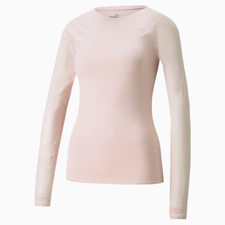 STUDIO Yogini Light shirt met lange mouwen dames, Lotus, small