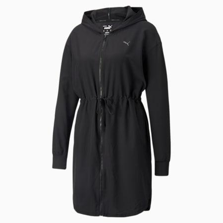 STUDIO Flow Women's Training Jacket, Puma Black, small-SEA